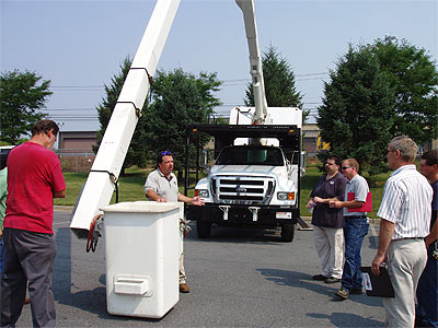 Safe Operation of a Bucket Truck