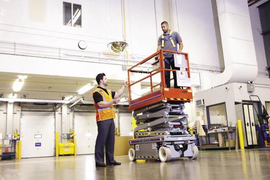 Safe Operation of an Aerial Work Platforms