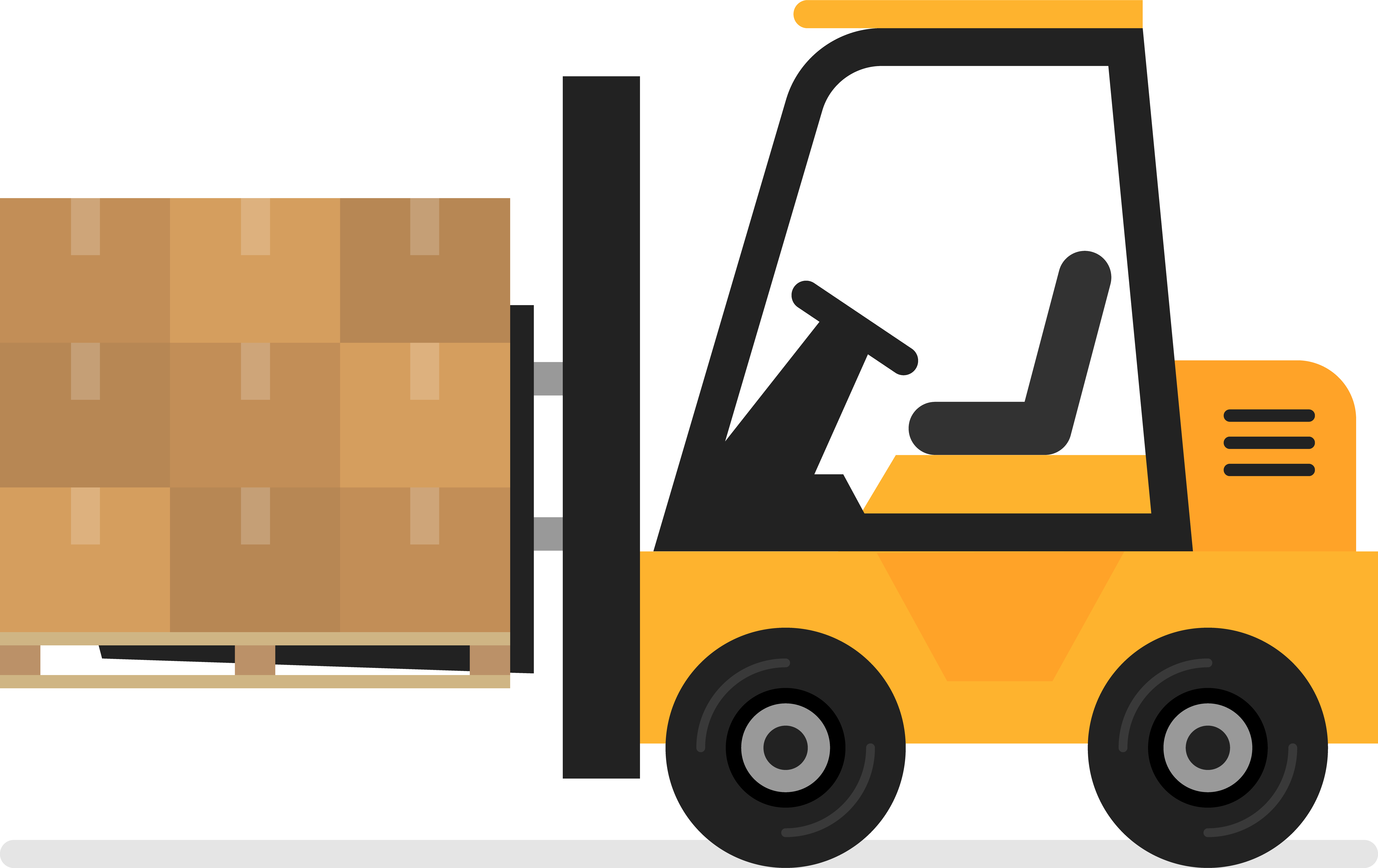 Illustration of a Lift Truck