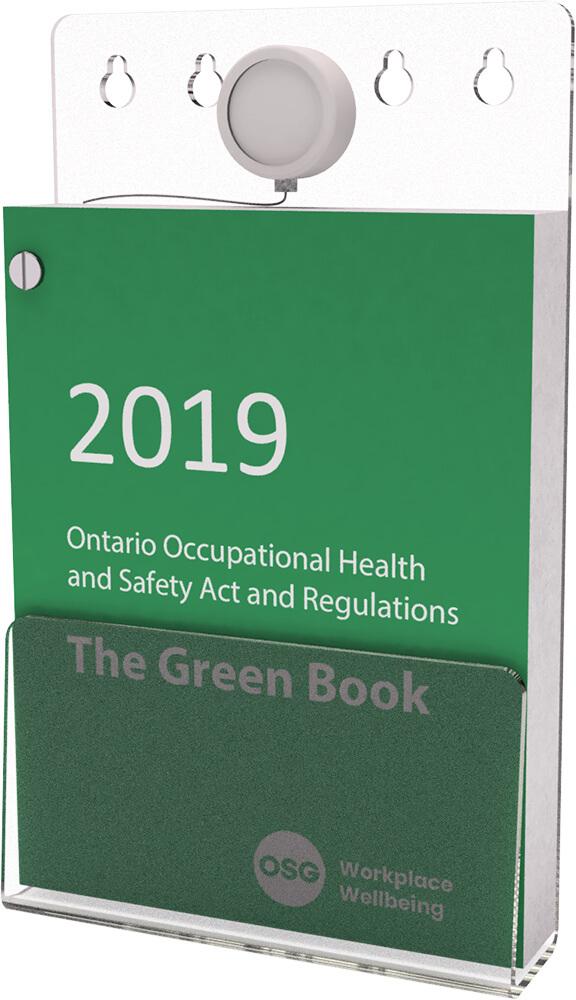 Green Book Holder