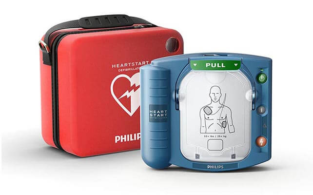On Site AED with Case