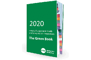 2020 Green Book with coloured tabs
